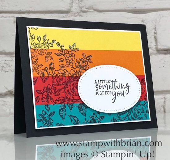 Fancy Phrases, Stampin Up!, Brian King