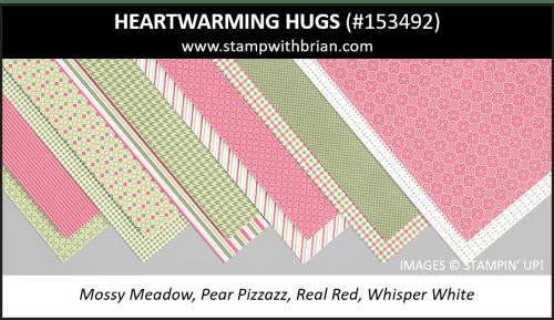 Heartwarming Hugs Designer Series Paper, Stampin Up!