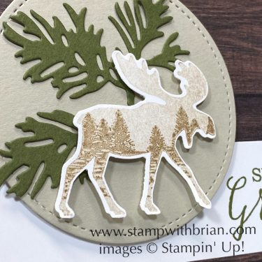 Merry Moose, Still Scenes, Stampin Up!, Brian King