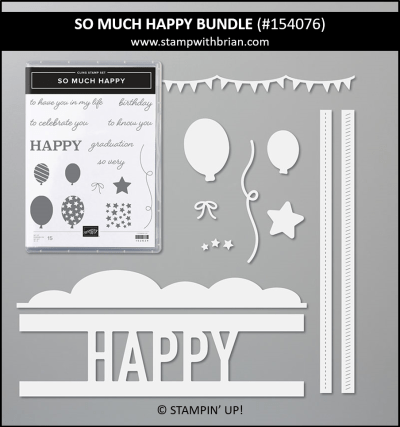 So Much Happy Bundle, Stampin Up! 154076