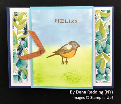 by Dena Redding, Sending Love One-for-One Card Swap, Stampin Up! 1