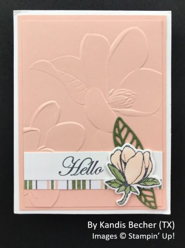 by Kandis Becher, Sending Love One-for-One Card Swap, Stampin Up!