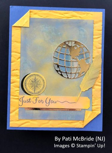 by Pati McBride, Sending Love One-for-One Card Swap, Stampin Up!