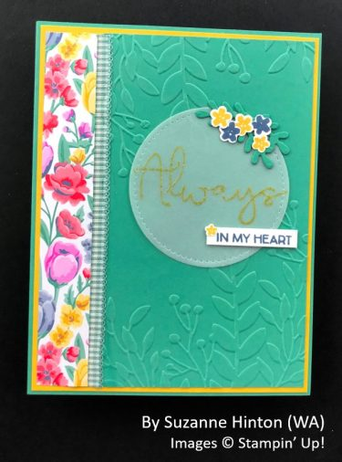 by Suzanne Hinton, Sending Love One-for-One Card Swap, Stampin Up!