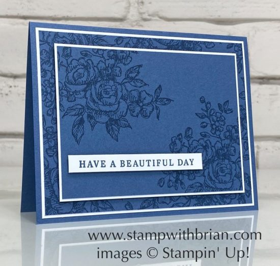Fancy Phrases, Beautiful Autumn, Stampin Up!, Brian King