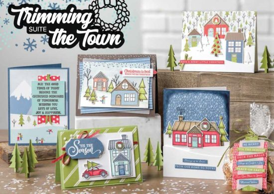 Trimming the Town Suite, Stampin Up!