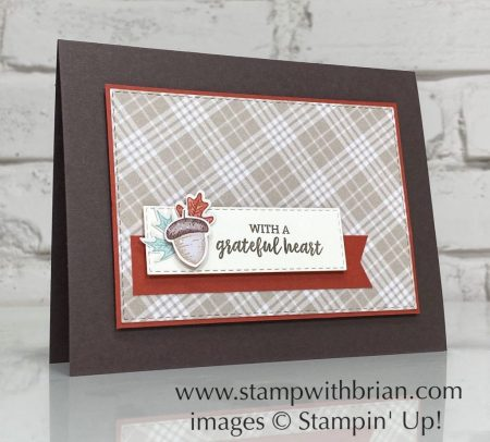 Banner Year Bundle, Plaid Tidings, Stampin Up! Brian King