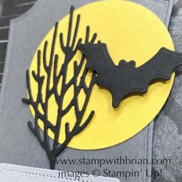Banner Year, Halloween Magic Dies, Stampin Up!, Brian King