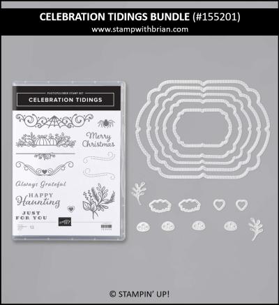 Celebration Tidings Bundle, Stampin Up! 155201