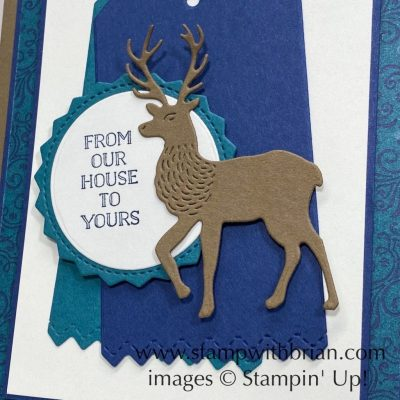 Itty Bitty Christmas, North Pole Wonder Dies, Stampin Up!, Brian King