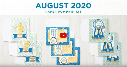 August 2020 Paper Pumpkin Kit