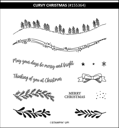 Curvy Christmas, Stampin Up!, 155364
