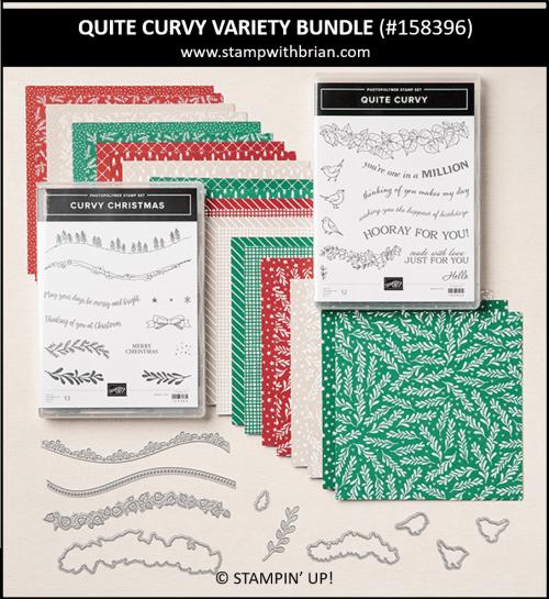 Quite Curvy Variety Bundle, Stampin Up! 158396