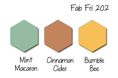 Stampin Up! Color Inspiration - Mint Macaron, Cinnamon Cider, Bumblebee