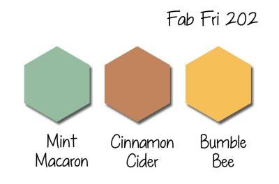 Stampin Up! Color Inspiration - Mint Macaron, Cinnamon Cider, Bumblebee