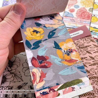 Jan-Jun 2021 Designer Series Paper Swatchbooks, Stampin Up!, Brian King