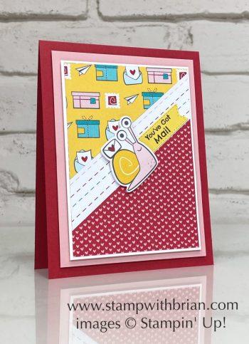Snail Mail Designer Series Paper, Stampin Up!, Brian King