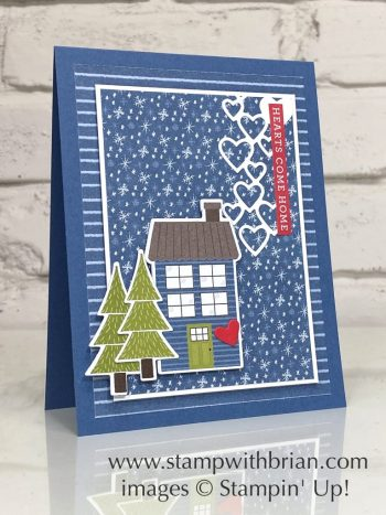 Trimming the Town Designer Series Paper, Home Together Dies, Stampin Up!, Brian King