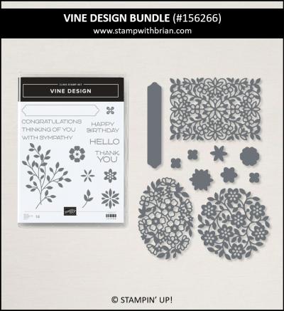 Vine Design Bundle, Stampin Up! 156266