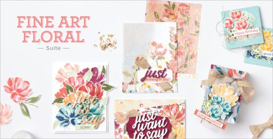 Fine Art Floral Suite, Stampin Up!, Brian King