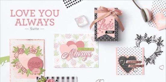 Love You Always Suite, Stampin Up!, Brian King