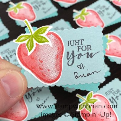 Sweet Strawberry, Stampin Up!, Brian King