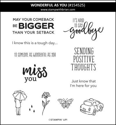 Wonderful as You, Stampin Up! 154525