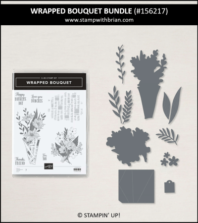 Wrapped Bouquet Bundle, Stampin Up!, 156217