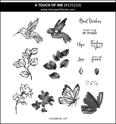 A Touch of Ink, Stampin Up! 155233