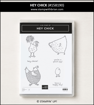 Hey Chick, Stampin Up!, 158190