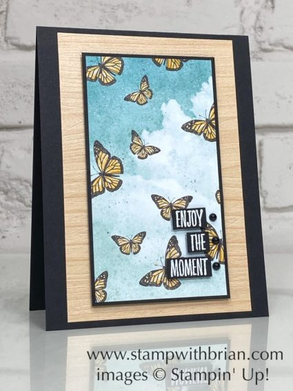 Enjoy the Moment, Butterfly Bijou, Stampin Up!, Brian King