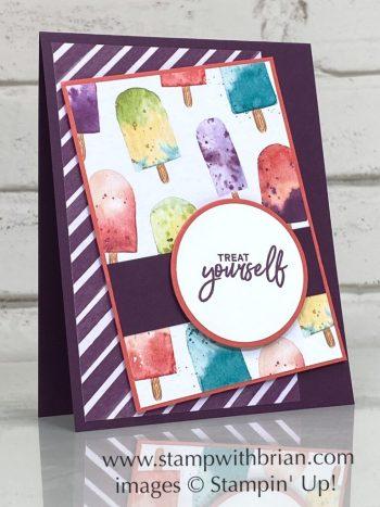 Sweet Ice Cream Bundle, Ice Cream Corner Designer Series Paper, Stampin Up!, Brian King