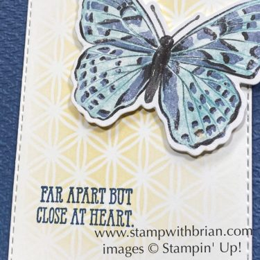 Well Said, Dandy Laser-Cut Paper, Stampin Up!, Brian King
