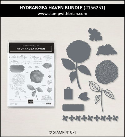 Hydrangea Haven Bundle, Stampin Up! 156251