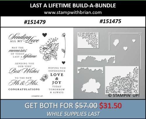 Last a Lifetime Build-a-Bundle, Stampin Up!