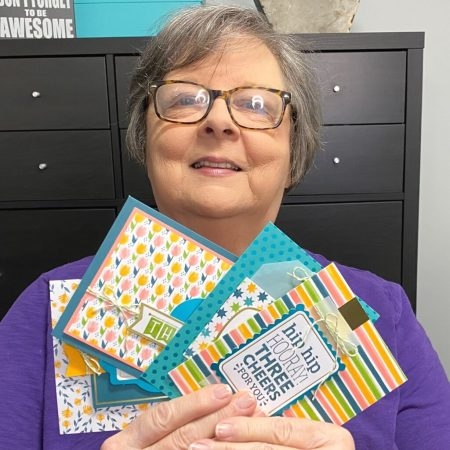 My Mom with the You Are Amazing Project Kit, Stampin Up!