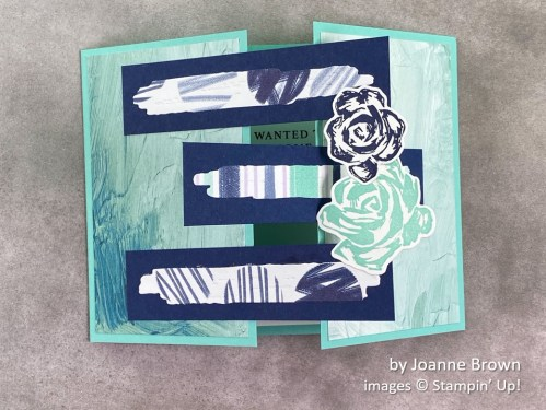 by Joanne Brown, Stampin Up!, swap card 2