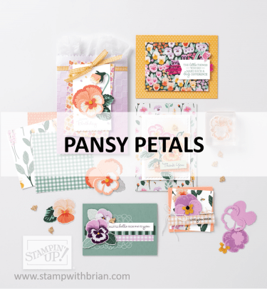Pansy Petals Suite, Stampin Up! 2021 Annual Catalog