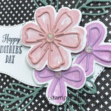Pretty Perennials Bundle, Wrapped Bouquet Bundle, Stampin Up!, Brian King, Mother's Day card
