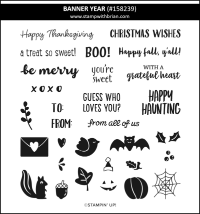 Banner Year, Stampin Up!, 158239