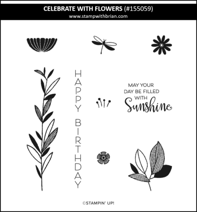 Celebrate with Flowers, Stampin Up! 155059