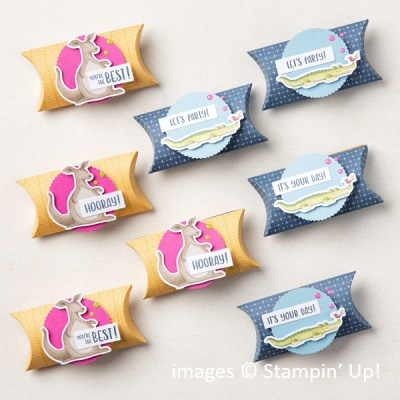 Let's Party Treat Packaging Kit, Stampin Up!