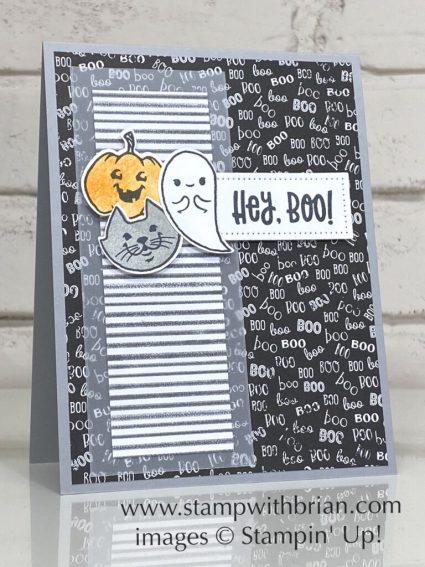Cutest Halloween, Stampin Up!, Brian King, Halloween card