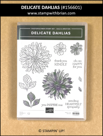 Delicate Dahlias, Stampin Up!, 156601