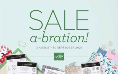 Stampin Up! August-September 2021 Sale-a-Bration brochure, Brian King