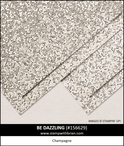 Be Dazzling Specialty Paper, Stampin Up! 156629