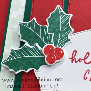 Merriest Moments, Christmas to Remember, Stampin Up!, Brian King, Christmas card