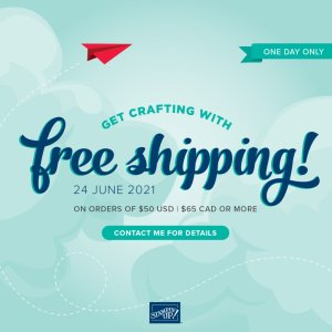 FREE Shipping on 6/24!