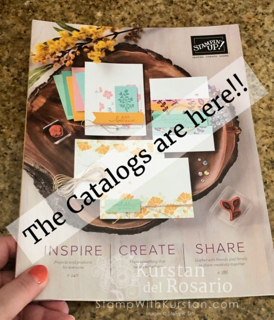 The '20-'21 Stampin' Up! Annual Catalog has ARRIVED!