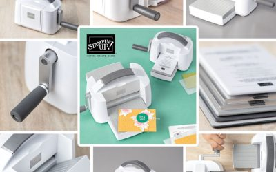 The NEW Stampin' Cut & Emboss Machine is here!